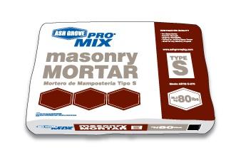 mortar for veneer installation