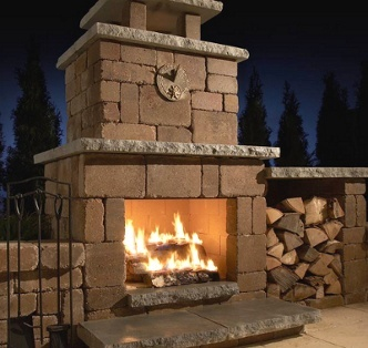 Outdoor Fireplace Kits Southwest Stone Supply