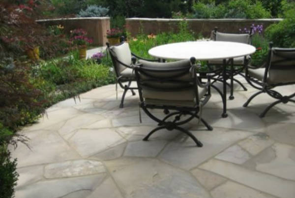 Flagstone Patio Installation Lake of the Ozarks