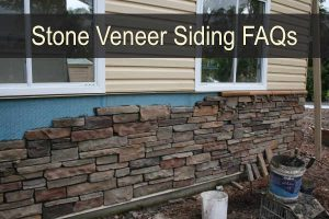 Stone Veneer Siding and Stone Sill