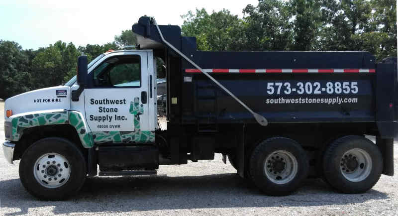Southwest Stone Supply Delivery Truck