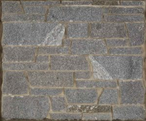 Imperial Gray Granite, Dimensional Cut... a clean, contemporary sawn natural stone in a traditional gray granite color