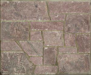 Sedona Glitter, Castle Cut... Glistening warm burgundy tones in a sophisticated square cut