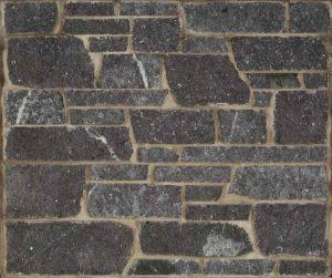 Starlight Granite, Dimensional Cut... a clean, contemporary sawn natural stone in a rich black granite color