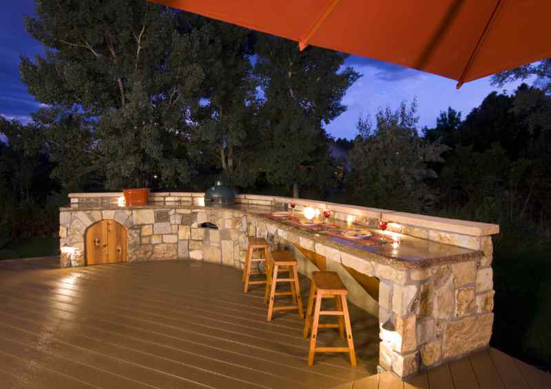 Outdoor Kitchen Bars Don T Have To Be Hard See These 5 Tips