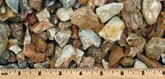 "1"" Creek Rock landscaping stone supply"