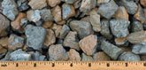 Oak Bark multi-color gravel with blue hues